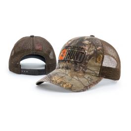fe75d9e46cf Garment Washed Camo Printed Trucker Mesh Adjustable Hats 11P by Richardson  Cap