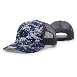 90ef98508f0a6 Digital Camo Trucker Mesh Adjustable Hat 112P by Richardson Cap