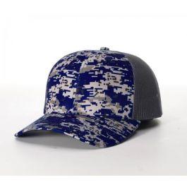 Digital Camo Trucker Mesh Adjustable Hats By Richardson