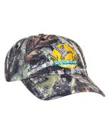 685C Unstructured Camouflage Camo Hat by Pacific Headwear with 3D Embroidery Front Free Shipping