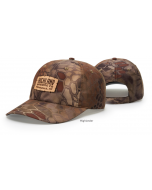 870 Unstructured Performance Camo Adjustable Hat by Richardson Cap