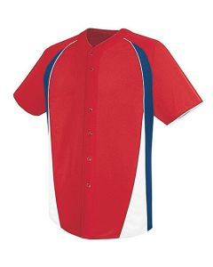 Ace Full-Button Jersey by high 5 Sportswear 12220