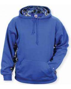 Digital Camo Hood Sweatshirt by Badger Sporting Style Number 1464