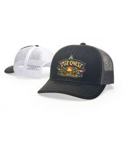112 Twill Trucker Mesh Snapback Adjustable Hat by Richardson Caps