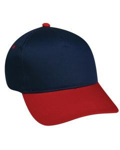 Cotton Twill Plastic Snap Adjustable Hat by OC Sports GL-455