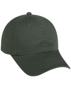Garment Washed Cotton Twill Adjustable Hat by PC Sports GWT-116