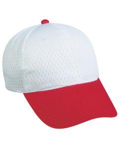 Jersey Mesh Adjustable Hat by OC Sports JM-123