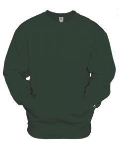 Crew Sweatshirt with Front Pocket by Badger Sport Style Number 1252