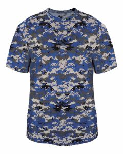 Digital Camo Performance B-Core Shirt by Badger Sports Style Number: 4180