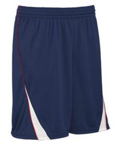 Finger Roll 9 Inch Inseam Reversible Basketball Short by Teamwork Athletic Style Number 442A