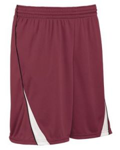 Finger Roll 7 Inch Inseam Reversible Youth Basketball Short by Teamwork Athletic Style Number 441A