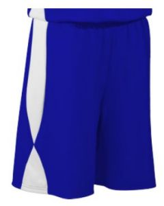 Overdrive Performance Reversible Basketball Shorts 9 Inch Inseam by Teamwork Athletic Style Number 4437