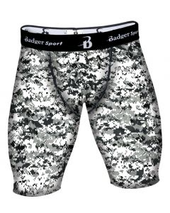 Digital Camo Compression Shorts by Badger Sport 4608