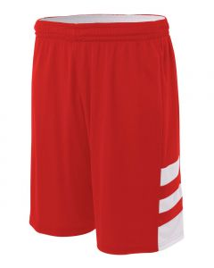 "8"" Youth  Reversible Speedway Basketball Short by A4 Sportswear NB5334"