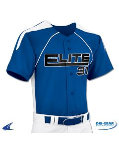 DRI-GEAR? Full Button Baseball Jersey by Champro Sports Style Number: BS31