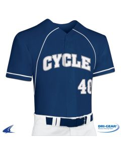 Cycle DRI-GEAR? Full Button Faux Baseball Jersey by Champro Sports Style Number: BS40