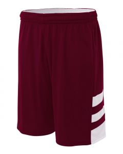 "10"" Reversible Speedway Basketball Short by A4 Sportswear N5334"