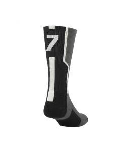 Player ID Number Socks by TCK Graphite-Black-White