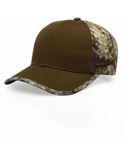 844 Duck Cloth Camo Adjustable Hat by Richardson Caps