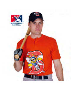 MiLB 2-Button Baseball Jersey by Majestic Athletics Style Number A180MiLB