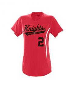 Girls Heat Performance Jersey by Augusta Sportswear Style Number 1271