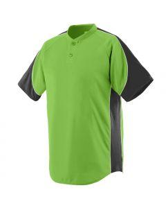Blast 2-Button Baseball Jersey by Augusta Sportswear Style Number 1530