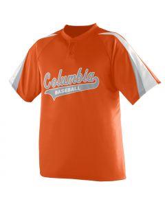 Power Plus 2-Button Baseball Jersey by Augusta Sportswear Style Number 428