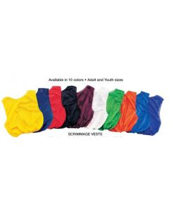 MARTIN SCRIMMAGE VESTS (packs of 12 each) (adult and youth)