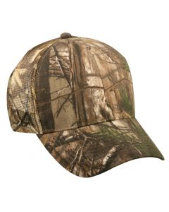 Camo Mesh Twill Adjustable Hat by OC Sports 315M