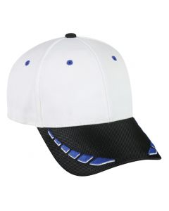 Coolever Mesh/Loop Adjustable Hat by OC Sports CM-150