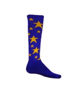 Medium Stars Sock by Red Lion Sports Style Number 7688