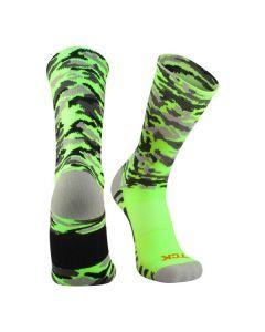 Woodland Camo Crew Socks by TCK
