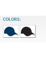 """860U Fitted Mesh Umpire Hat 2"""" Visor by Pacific Headwear"""