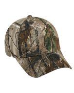 ae402670570 Camo Brushed Cotton Spandex ProFlex Hat by OC Sports PFX-115