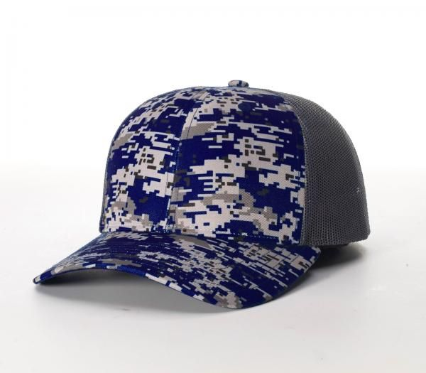 6cb0ea41032 Digital Camo Trucker Mesh Adjustable Hats by Richardson Cap 114