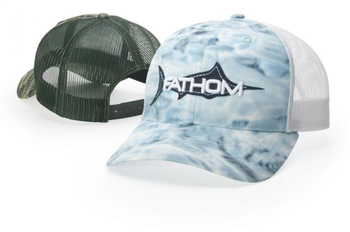 872 Aqua Design Trucker Mesh Hat By Richardson Cap edc904647256