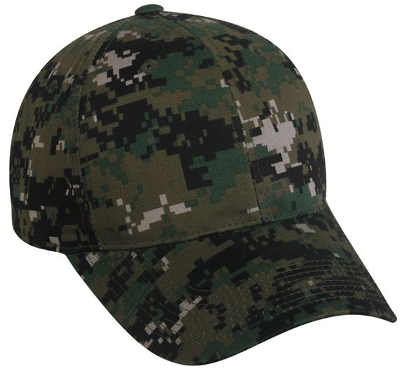 Digital Camo Adjustable Hat by OC Sports DC-610 12dacdf2c012