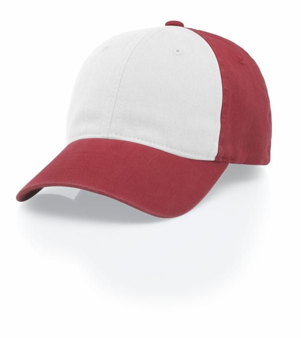 162ea6cb90f 385 Garment Washed FlexFit Hat by Richardson Caps. Red. Red. White Red