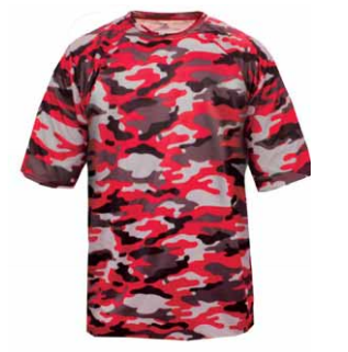 ed0821b82 Camo Performance Jersey by Badger Sport Style Number 4181