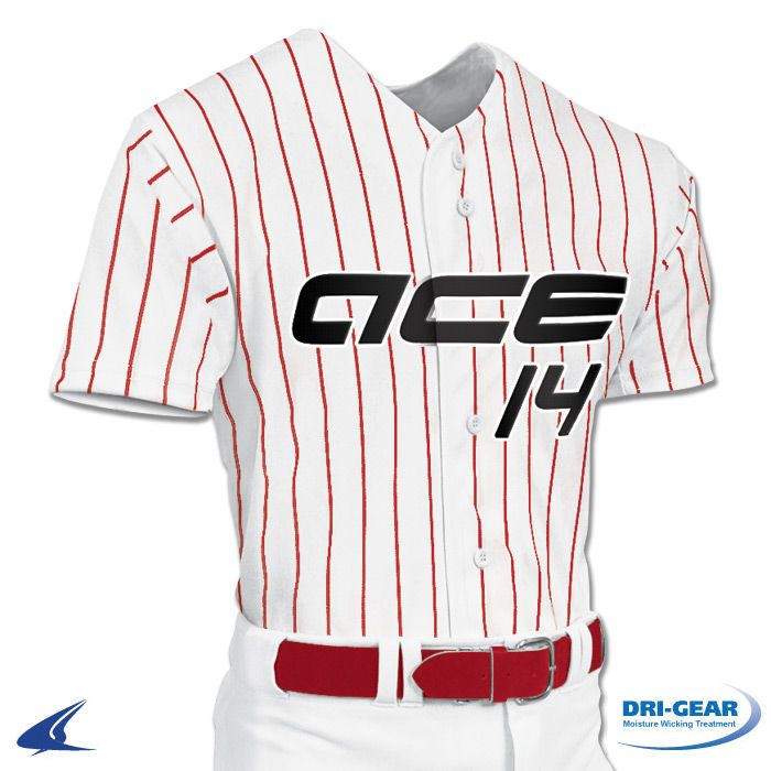 f0d09c676 Buy Pro-Style Warp Knit Full Button Baseball Jersey by Champro Sports Style  Number: BS14