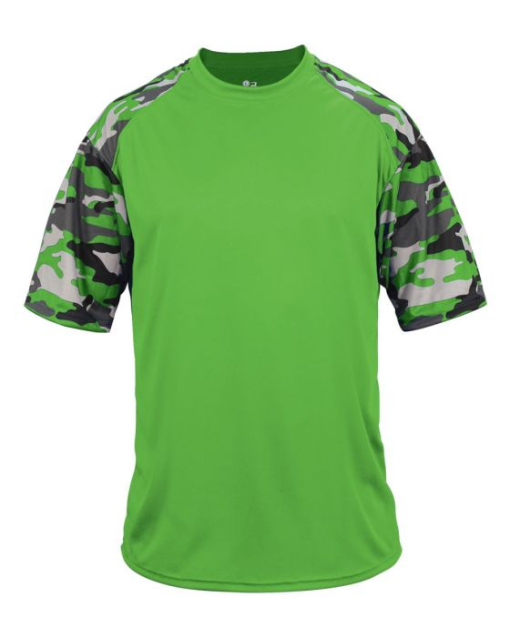 898fe9028b0 Camo Jersey by Badger Sport Style Number 4141