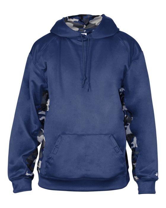 Camo Hooded Sweatshirt by Badger Sport 1469 5bac0b4e5cb