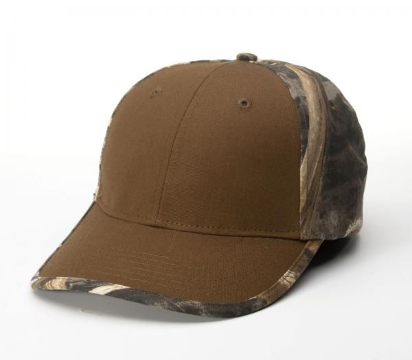 844 Duck Cloth Camo Adjustable Hat by Richardson Caps 8ff8201974f3