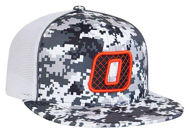 8D8 Digital Camo Trucker Mesh Universal Fit Hat by Pacific Headwear