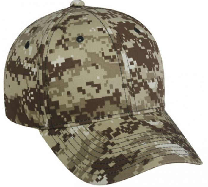 Buy Adjustable Structured Digital Camo Cap by Outdoor Cap Style Number DC  610 d987d06c30ed