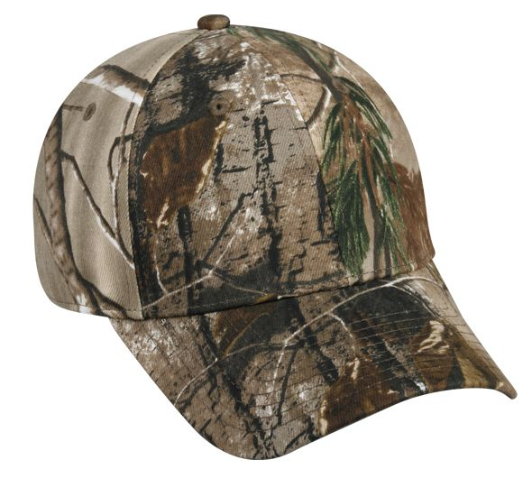 Camo Brushed Cotton Spandex ProFlex Hat by OC Sports PFX-115 f86566fba445