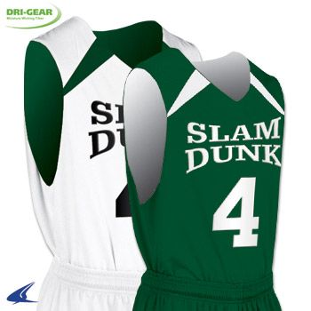 c95702aa9c3 Buy Youth Slam Dunk Reversible Basketball Jersey by Champro Sports Style  Number BBJ4Y