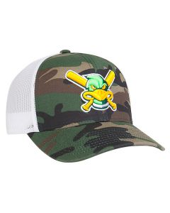 108C Digital Camo Trucker Mesh Snapback Adjustable Hat by Pacific Headwear