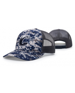 112P Digital Camo Trucker Mesh Adjustable Hat by Richardson Cap