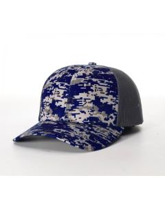 114 Digital Camo Trucker Mesh Adjustable Hats by Richardson Cap